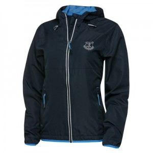 Everton Sport Running Jacket - Navy/Reflective - Womens