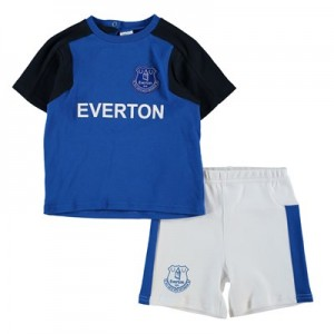 Everton Home Kit T-Shirt and Short Set - Baby