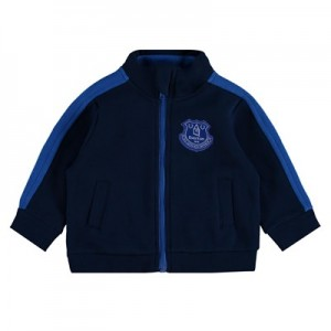 Everton Crest Track Top - Navy - Baby