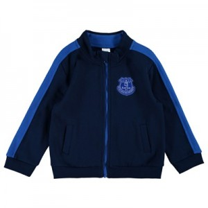 Everton Crest Track Top - Navy (2-7yrs)