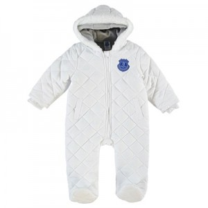 Everton Snowsuit - White - Baby