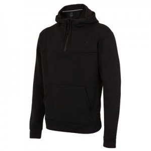 Everton Ath Tech Fleece FZ Hoodie - Black