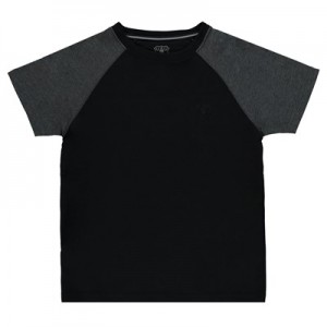 Everton Ath T-Shirt - Black/Charcoal Marl (6-13yrs)