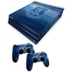 Everton PS4 Pro Controller and Console Skin Set