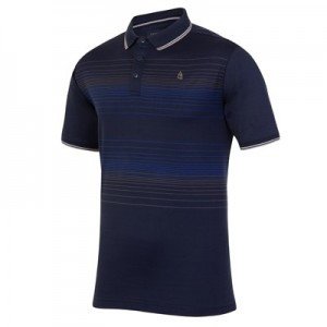 Everton Terrace Mercerised Polo - Navy