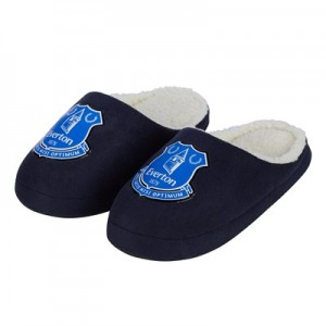 Everton Coach Mule Slipper - Junior