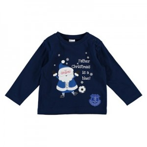 Everton Santa T-Shirt -Baby/Infant