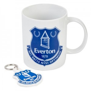 Everton Mug and Keyring Gift Set