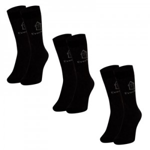 Everton 3 Pack Ankle Socks - Black - Mens