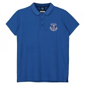 Everton Core Crest Polo - Royal Marl - Kids