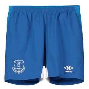 Everton Training Woven Shorts - Royal Blue - Kids