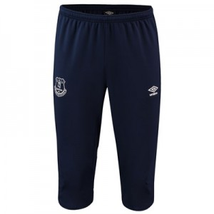 Everton Training 3/4 Knit Pants - Dark Blue