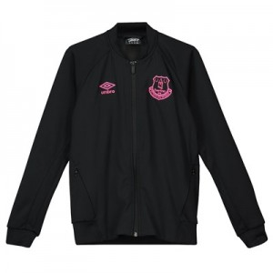 Everton Walkout Jacket - Black - Kids