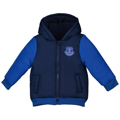 Everton Baby Bomber Jacket - Grey Marl - Boys