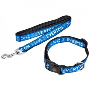 Everton Dog Collar and Lead - Large