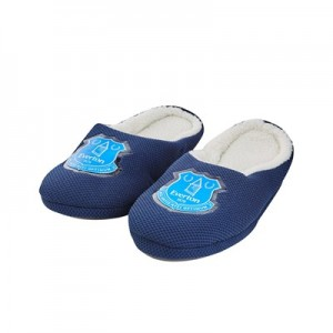 Everton Mule Style Slipper - Navy - Boys