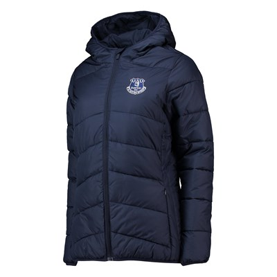 Everton Core Padded Jacket - Navy - Womens