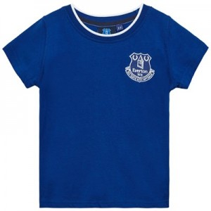Everton Core Basic Tipped Collar T-Shirt- Royal-Infant Boys