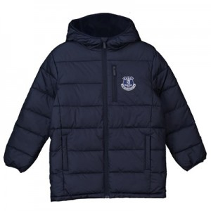 Everton Core Padded Jacket - Navy - Junior Boys