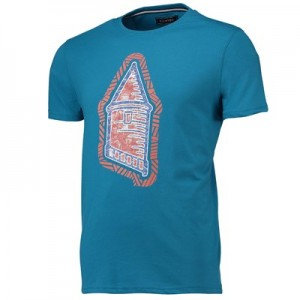 Everton Terrace Tower T-Shirt - Teal - Mens