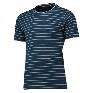 Everton Terrace Stripe T-shirt - Navy - Mens