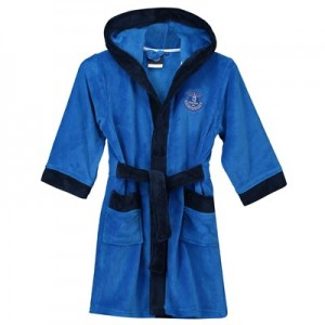 Everton Fleece Robe - Royal/Navy- Boys