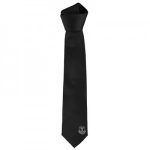 Everton Polyester Black Tie