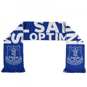Everton Everton Nil Satis Nisi Optimum Scarf - Royal - Adult