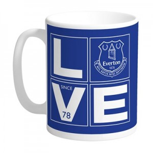 Everton Personalised Love Mug