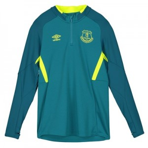 Everton Training Half Zip Sweatshirt - Blue - Kids