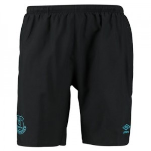 Everton Training Woven Shorts - Black
