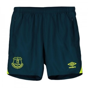 Everton Training Woven Shorts - Blue - Kids