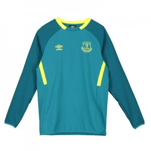 Everton Training Drill Top - Blue - Kids