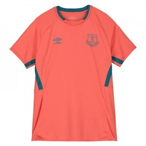 Everton Training Jersey - Coral - Kids