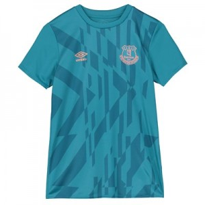 Everton Warm Up Top - Blue - Kids