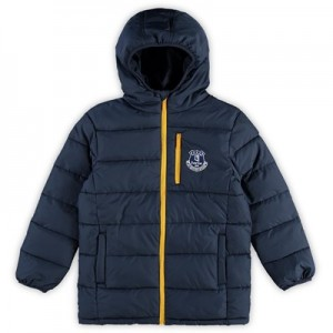 Everton Padded Jacket - Navy - Kids