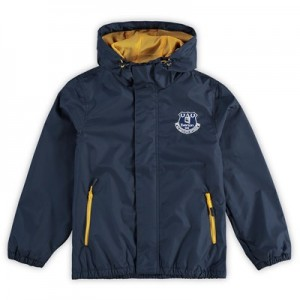 Everton Shower Jacket - Navy - Kids