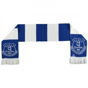 Everton Bar Scarf - Royal / White - Adult
