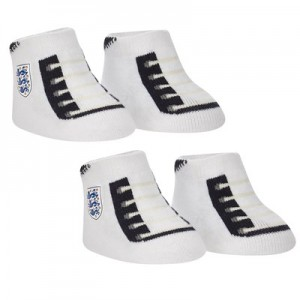 England Football Booties - Bright White - Baby