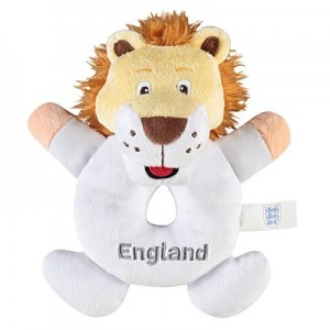 England Mascot Donut Rattle