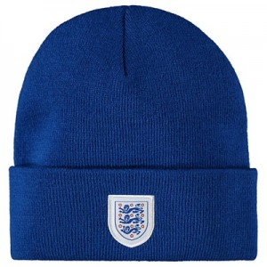 England Cable Stripe Hat - Blue - Unisex