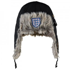 England Trapper Hat - Black - Mens