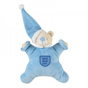 England Blanket Bear - Blue