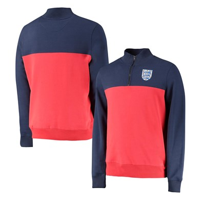 England Cut & Sew Track Top - Red - Mens