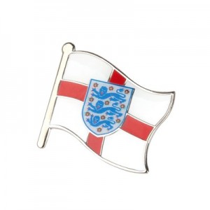 England Flag Crest Badge