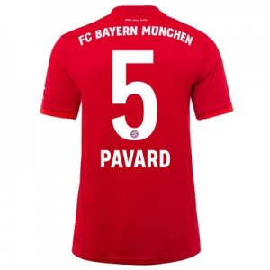 FC Bayern Home Shirt 2019-20 with Pavard 5 printing
