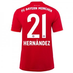 FC Bayern Home Shirt 2019-20 with Hernández 21 printing