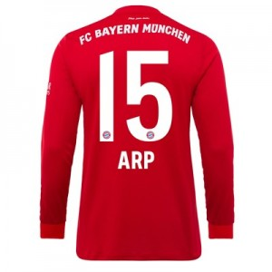 FC Bayern Home Long Sleeve Shirt 2019-20 with Arp 15 printing