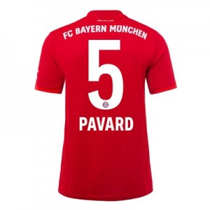FC Bayern Home Shirt 2019-20 - Kids with Pavard 5 printing