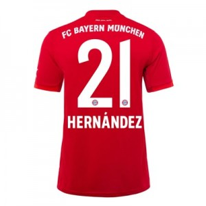 FC Bayern Home Shirt 2019-20 - Kids with Hernández 21 printing